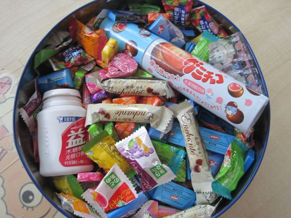 科学:各种各样的糖果_转自幼儿园博客