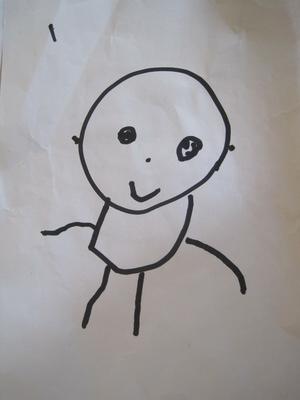 我们画了自画像
