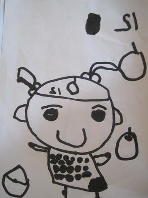 我们的万圣节儿童面具也可以运用小孩子精心制作的