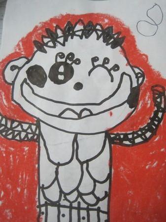 我的自画像_转自幼儿园博客