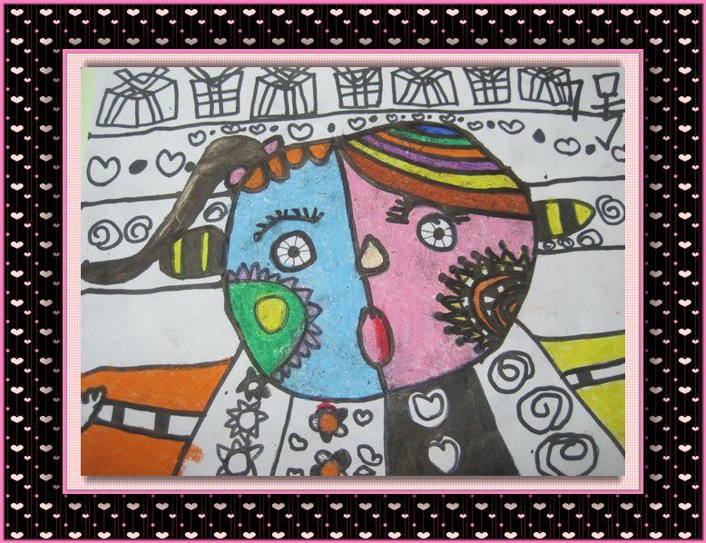 首页 幼儿园 美术《神奇的脸》